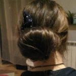 Question  comment faire un beau chignon tout simple enhellip