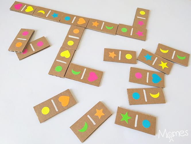 diy dominos en carton