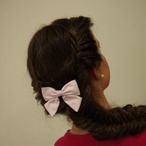 Tuto coiffure : la double tresse en épi