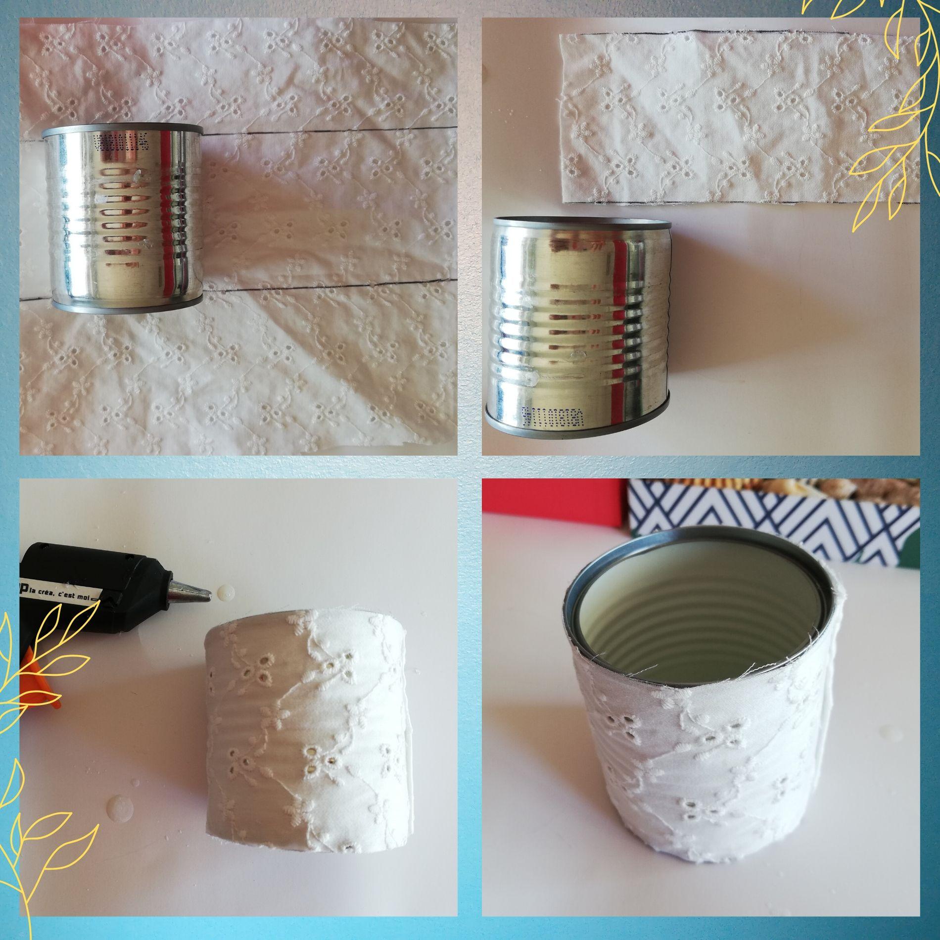 diy upcycling boîte de conserve