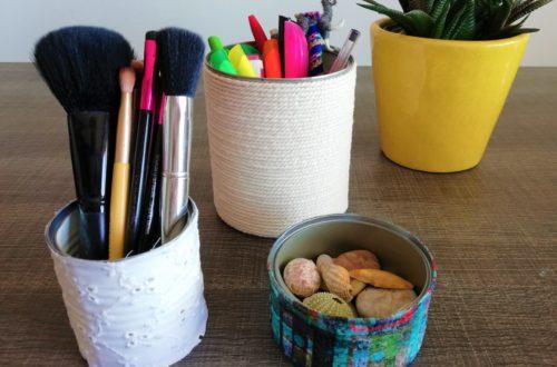 Recycler ses boîtes de conserve en pots