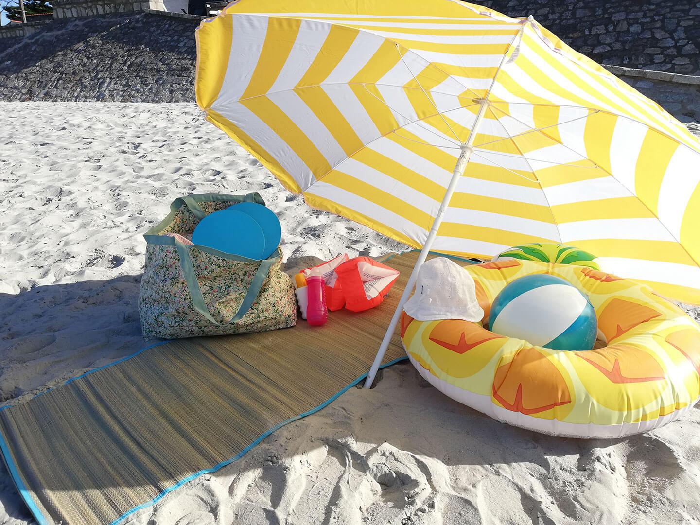 sac de plage famille