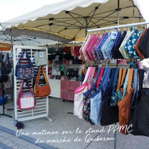 Une matinée sur le stand PPMC du marché de Quiberon