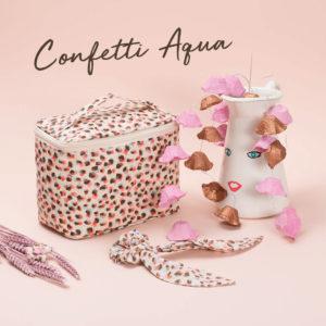 [Nouvelle collection] L'heure est à la fête avec Confetti Aqua