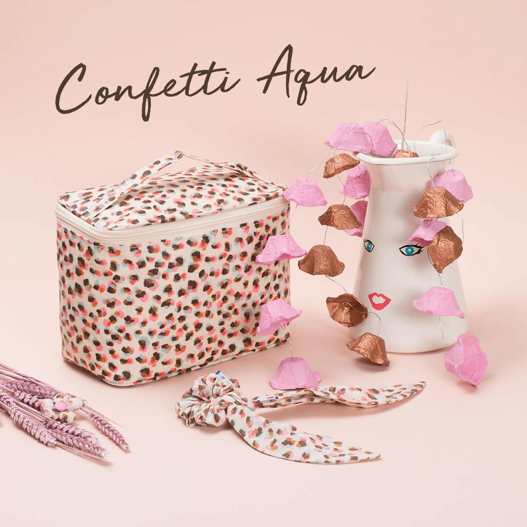 nouveauté confetti aqua