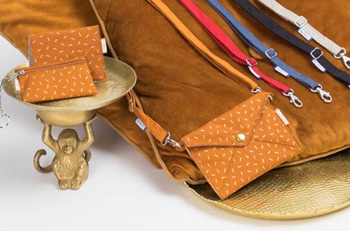 Astuce mode : 3 façons d'utiliser les lanières et bandoulières de sac Papa Pique et Maman Coud
