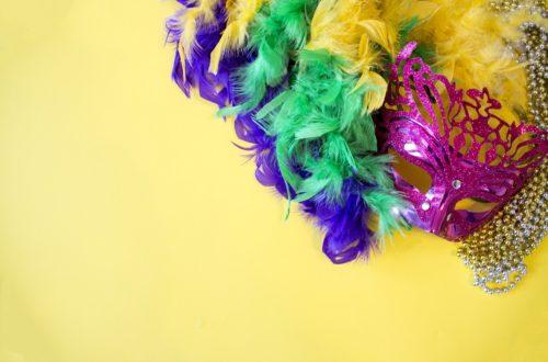 Masque de mardi gras à imprimer : Carnaval d'éléphants !