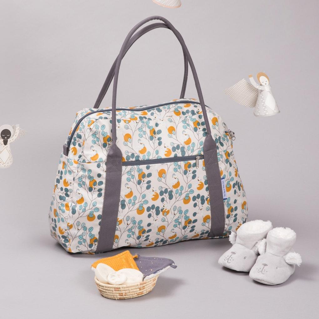 sac à langer bébé mixte koala - ppmc