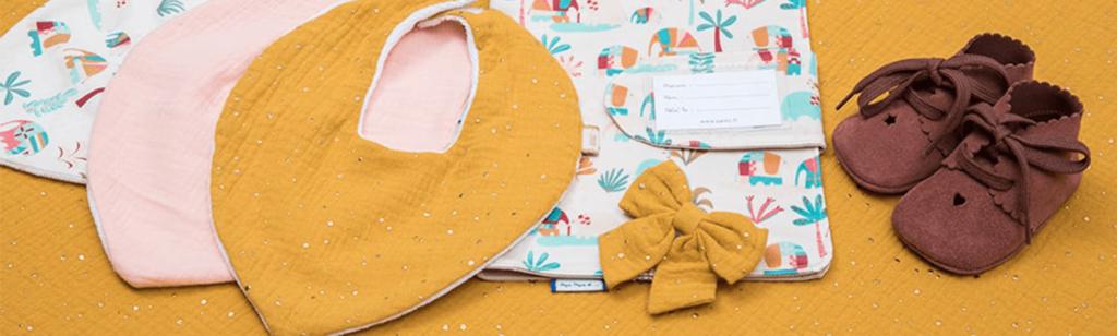 accessoires pour bébé papa pique et maman coud