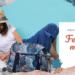 La nouvelle collection Papa Pique et Maman Coud feuillage marine apporte un brin de fraîcheur pour ce printemps et l'été qui arrive, parfait pour vos sorties plage !