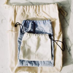 Tuto Couture – coudre une pochette avec cordon